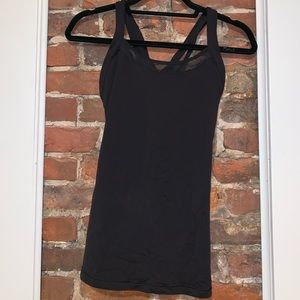 Lululemon Tank with C/D support SIZE 8